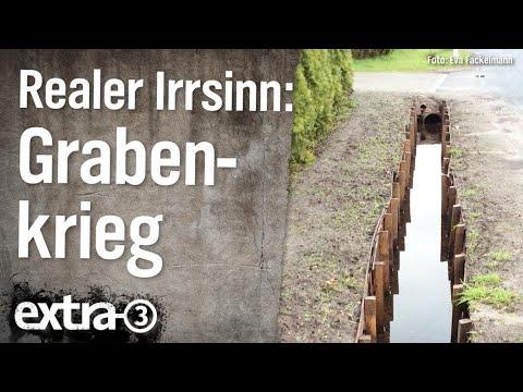 Realer Irrsinn: Grabenkrieg in Oldenburg  | extra 3 | NDR