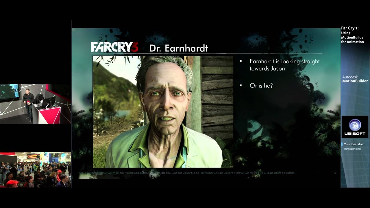Full Performance Capture on Far Cry 3 - Game Anim