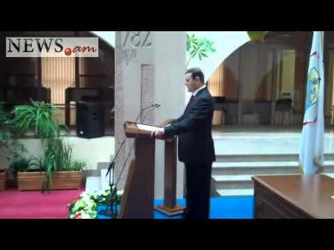 Yerevan's new Mayor formally takes office