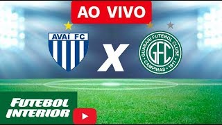Avaí x Guarani - Brasileiro Série B 2018 AO VIVO