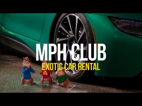 Movie Production Exotic Car Rental | mph club®
