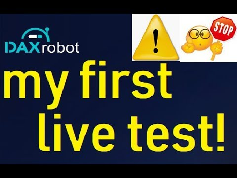 Dax Robot Live Trading Test & Review (DOES IT REALLY WORK?)