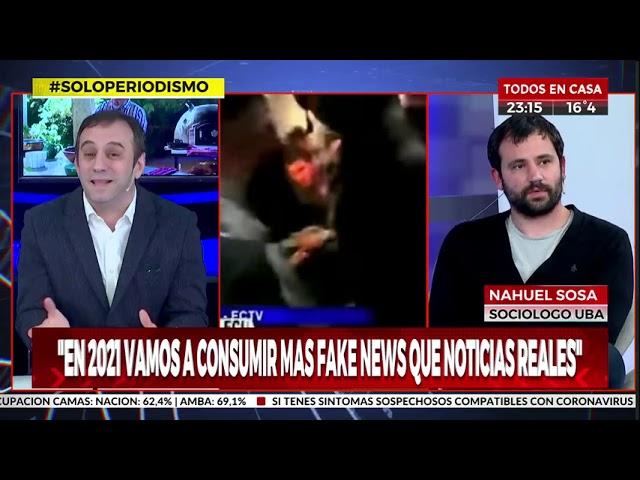 Análisis político en Crónica TV 08/09/2020