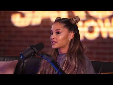 Watch Ariana Grandes Voice CHANGE mid-interview