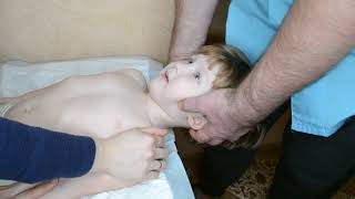 Лечение детей: сколиоз, цнс, кривошея, заболевание внутренних органов ч.3