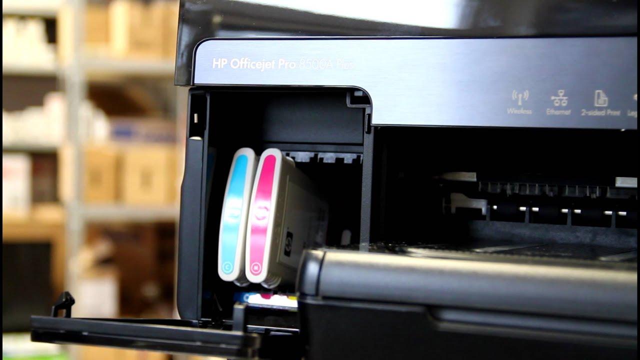 Hp Officejet Pro 8500a Druckerpatronen Wechseln Und Tipps
