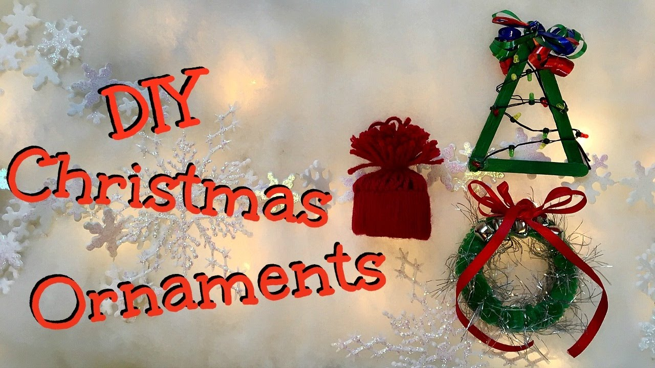 DIY Christmas Tree Ornaments | Half Baked Crafts - YouTube