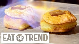 Fiery Doughnuts at the Gastro Garage | Eat the Trend
