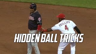 MLB | Hidden Ball Tricks