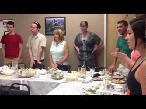 Trip to an Uzbek Restaurant! Golden Valley in Phoenix with Uzbek Club: Quick Clips