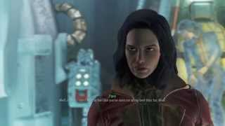 Fallout 4 Flirting with another girl in front of your dead wife NO SPECIAL DIALOGUE INCLUDED