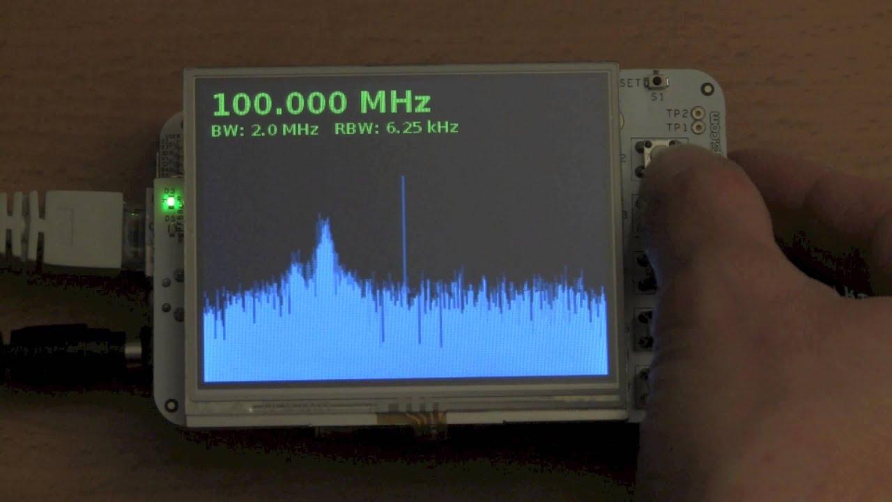 RTL-SDR spectrum analyzer on the Beaglebone - OZ9AEC Website
