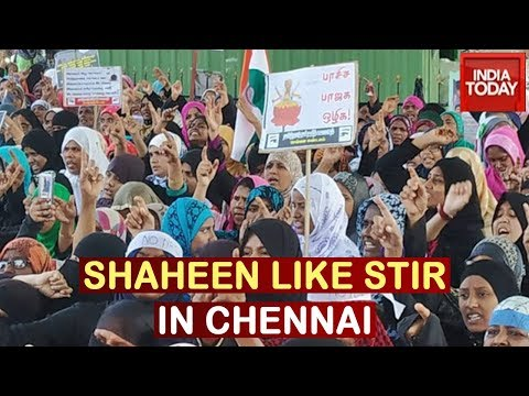 Chennai's Shaheen Bagh: Anti-CAA Protest Continues In Chennai Despite Police Attacks