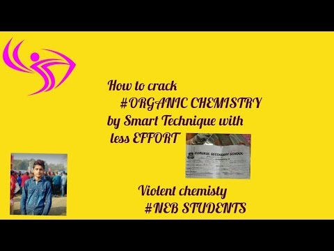 How to crack question paper of organic chemistry by smart technique in less time