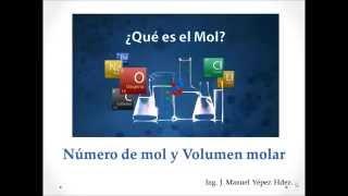 Calculo de Número de Mol, Volumen Molar y Número de Átomos