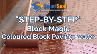 """Block Magic"" Transform Old Block Paving Driveways and Patios"