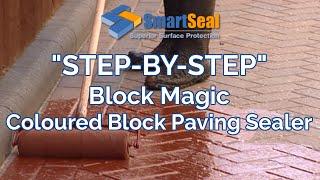 """Block Magic"" Transform Old Block Paving Driveways and Patios"