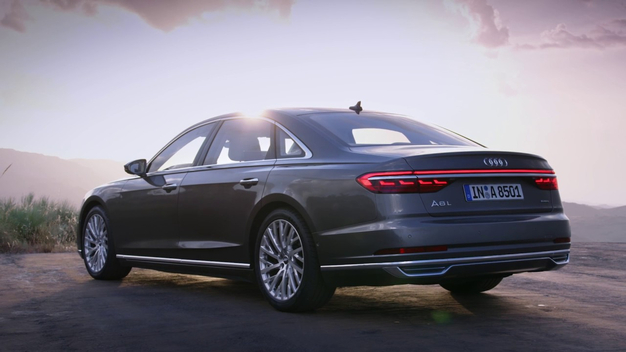 2018 audi a8 l footage youtube. Black Bedroom Furniture Sets. Home Design Ideas