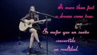 IU-Loving You with lyrics sub español