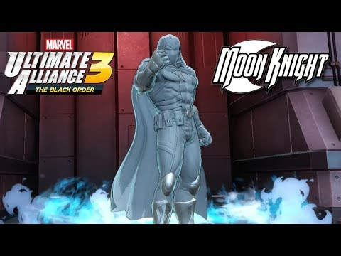 Marvel Ultimate Alliance 3 Moon Knight Unlocked! (Gauntlet Mode: Blood Moon Rising)