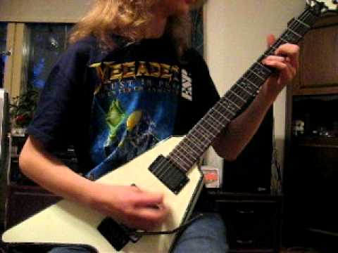 Annihilator - Sounds Good to Me (guitar cover)