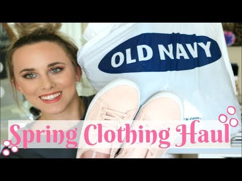 Old Navy Spring Try-On Haul 2018 🌸 Shirts, Pants & Shoes!