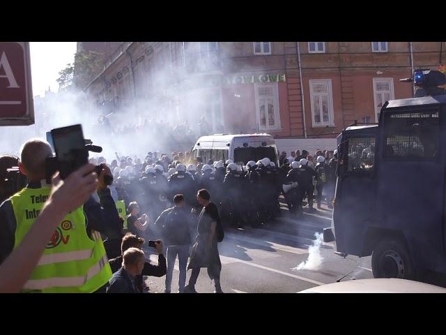 Marsz Równo?ci i kontrmanifestacja w Lublinie (UWAGA NIECENZURALNE S?OWA)