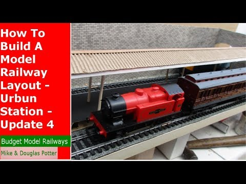 How To Build A Model Railway Layout – Urbun Station – Homewood Valley Railway 4
