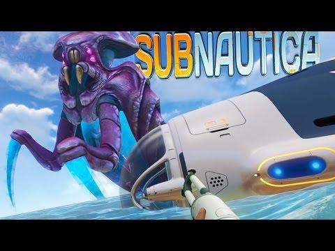 Subnautica - WARPER LEVIATHAN IS FRIGGEN HUGE!! BABY SEA DRAGON - (Subnautica Gameplay)