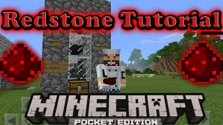 Mcpe Redstone Tutorial -Auto Chicken Cooker Farm- 0.15.3 Minecraft PE  (pocket edition )