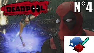 CETTE 1ÈRE BOSSE M'A POURTÉ - ep4 Deadpool video game ; Lego Sonicraft