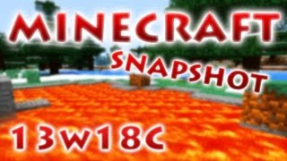 Minecraft Snapshot 13w18a,b,c - RedCrafting Review