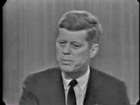 JFK And Nixon Debate On The Cold War