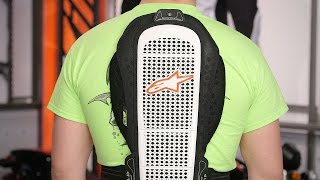 Alpinestars Nucleon KRR Race Back Protector