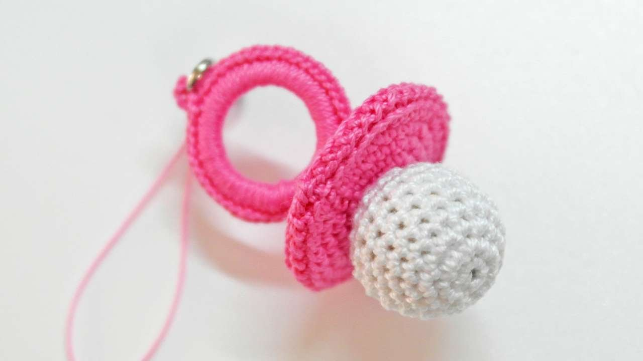 How To Make A Cute Crocheted Charm Babyu0027s Dummy   DIY Crafts Tutorial    Guidecentral