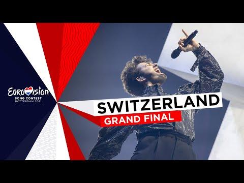 Gjon's Tears - Tout l'Univers - LIVE - Switzerland 🇨🇭 - Grand Final - Eurovision 2021