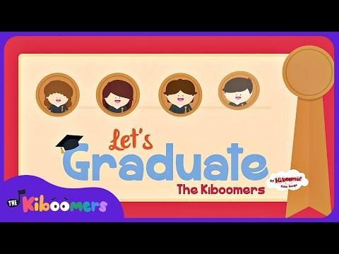 Graduation Song for Preschool and Kindergarten | The Kiboomers