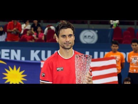 David Ferrer vs. Feliciano López- Final Kuala Lumpur 2015 [Highlights]