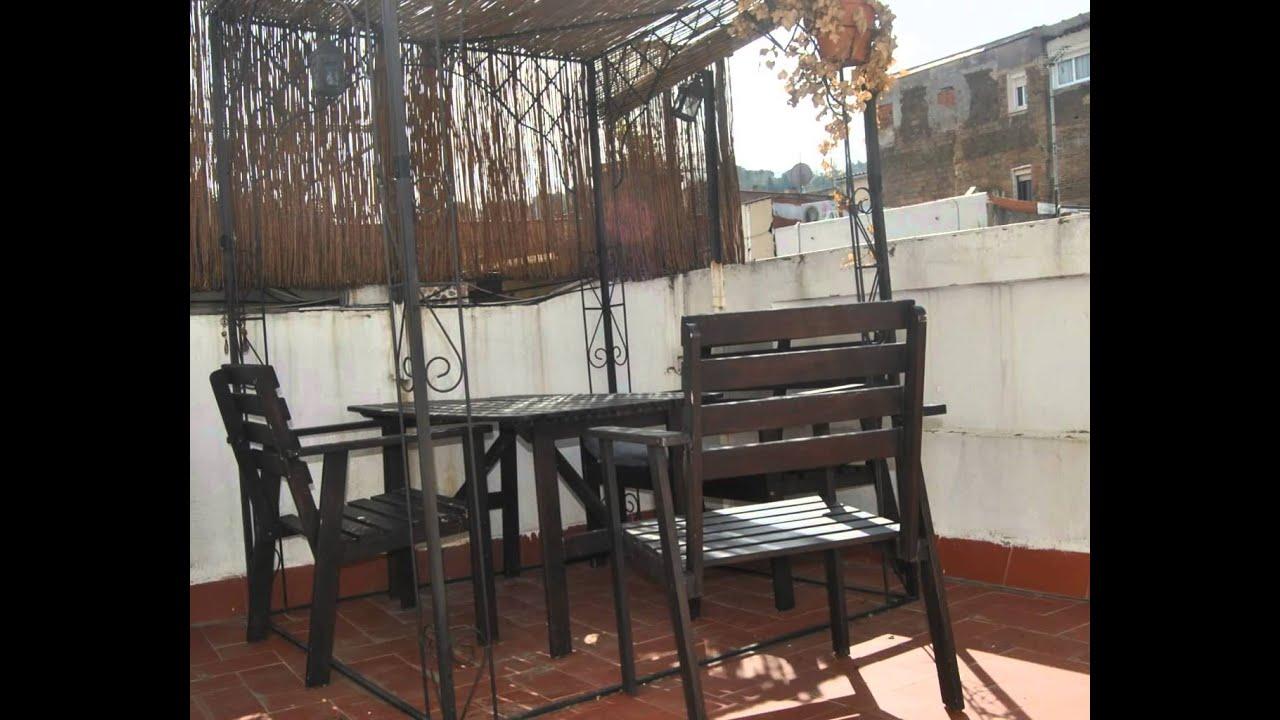 Casual home tico con terraza en alquiler poble sec - Atico terraza barcelona ...