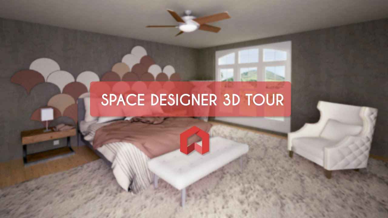 space designer 3d tour youtube. Black Bedroom Furniture Sets. Home Design Ideas