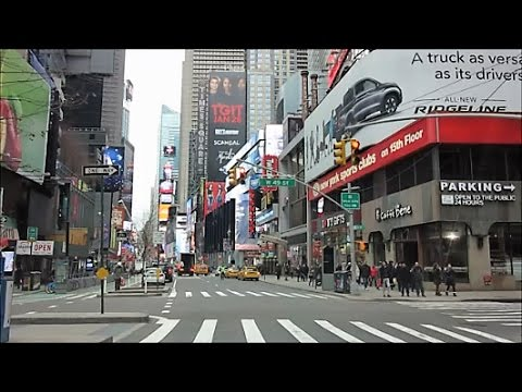 HARLEM TO TIMES SQUARE ON AMSTERDAM AND BROADWAY