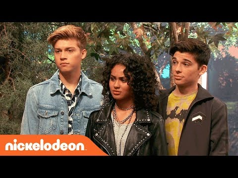 Knight Squad's Daniella Perkins & Pop Star Ricky Garcia Join the Quads 👻| NRDD | Nick