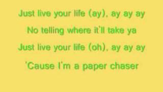 rihanna live your life lyrics
