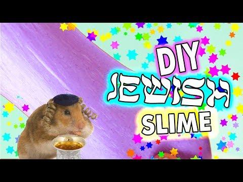 DIY Jewish Slime! How to make the BEST Kiddush slime ever!