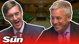 Bercow vs Rees-Mogg: parliamentary camaraderie from both sides of Brexit