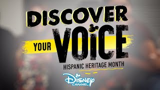 Discover Your Voice! | Hispanic Heritage Month | Disney Channel