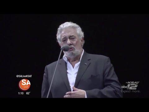 Placido Domingo sits down with SA Live