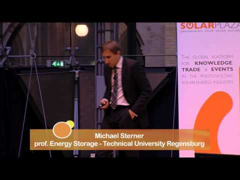The impact of the next big thing: (solar) energy storage - Michael Sterner