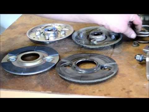 """""""PART 2"""" HONDA HRC216 BLADE CLUTCH REBUILD / WHAT TO REPLACE AND WHAT WEARS OUT."""