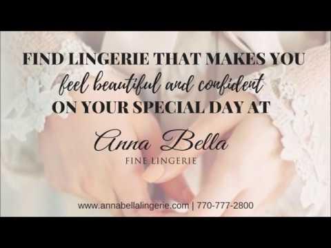 d631ab9454f9 The Perfect Bridal Lingerie   Anna Bella Fine Lingerie - YouTube